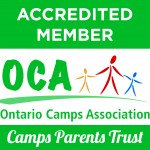 Camp Robin Hood is proudly accredited by the Ontario Camps Association.